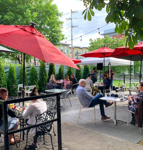 Outdoor Patio and live music